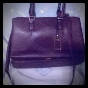Burgundy purse with Zipper by Aldo